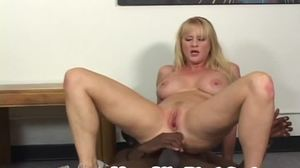 Big black cock, Riding, Big tits, Tits, Huge, Milf, Monster cock